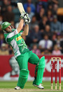 Luke Wright swings one on the leg side, Hobart Hurricanes v Melbourne Stars, BBL, Hobart, January 9, 2012
