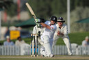 Steven Davies produced a composed 37 in England's chase, ICC Combined XI v England XI, Dubai, 3rd day, January 9, 2012