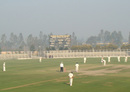 The fog stayed away on the first day in Lahli, Haryana v Rajasthan, 1st semi-final, Ranji Trophy 2011-12, Rohtak, 1st day, January 10, 2012