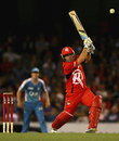 Aaron Finch top-scored for the Renegades with 72, Melbourne Renegades v Brisbane Heat, BBL, Melbourne, January 12, 2012