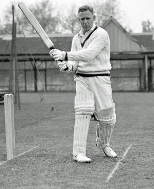Arthur Morris: the first man to make a century in both innings of his first-class debut