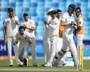 South Africa's rise to number one in the Test rankings was heavily influenced by Saeed Ajmal's demolition of England in the UAE