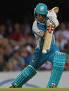Chris Lynn provided the last thrust with a 17-ball 37, Brisbane Heat v Sydney Thunder, BBL, Brisbane, January 17, 2012