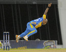 Tino Best bowled with energy to finish with three wickets, Barbados v Sussex, Caribbean T20 2011-12, Group B match, Barbados, January 18, 2012