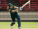 Alex Blackwell was involved in a 77-run stand that set up Australia's win, Australia v New Zealand, 1st Women's T20, North Sydney Oval, January 20, 2012