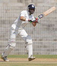 Hrishikesh Kanitkar scored a solid half-century in the Ranji final, Tamil Nadu v Rajasthan, Ranji Trophy final,Chennai, 1st day, January 19, 2012