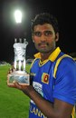 Thisara Perera was named Man of the Match, South Africa v Sri Lanka, 4th ODI, Kimberley, January 20, 2012