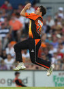 Ben Edmondson's double-wicket maiden derailed the Melbourne Stars' chase, Perth Scorchers v Melbourne Stars, BBL, 1st semi-final, Perth, January 21, 2012