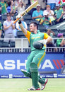 Graeme Smith is chuffed after reaching three figures