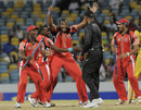 Trinidad & Tobago celebrate their victory