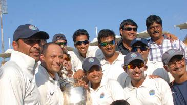 The Rajasthan players are all smiles