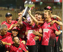 The Sydney Sixers with the inaugural BBL trophy, Perth Scorchers v Sydney Sixers, BBL 2011-12 final, Perth, January 28, 2012
