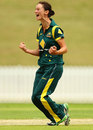 Julie Hunter finished with 3 for 31, Australia v New Zealand, 3rd Women's ODI, Rose Bowl, Sydney, January 29, 2012