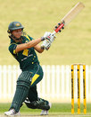 Leah Poulton scored an aggressive 61, Australia v New Zealand, 3rd Women's ODI, Rose Bowl, Sydney, January 29, 2012