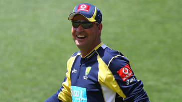 Micky Arthur at a training session in Brisbane