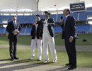 Wicket-filled first day in Dubai