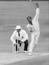 Bapu Nadkarni bowling against Australia, Australia v India, 1st Test, Adelaide, December 23, 1967