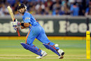 Virat Kohli works one to the leg side, Australia v India, CB Series, 1st ODI, Melbourne, February 5, 2012