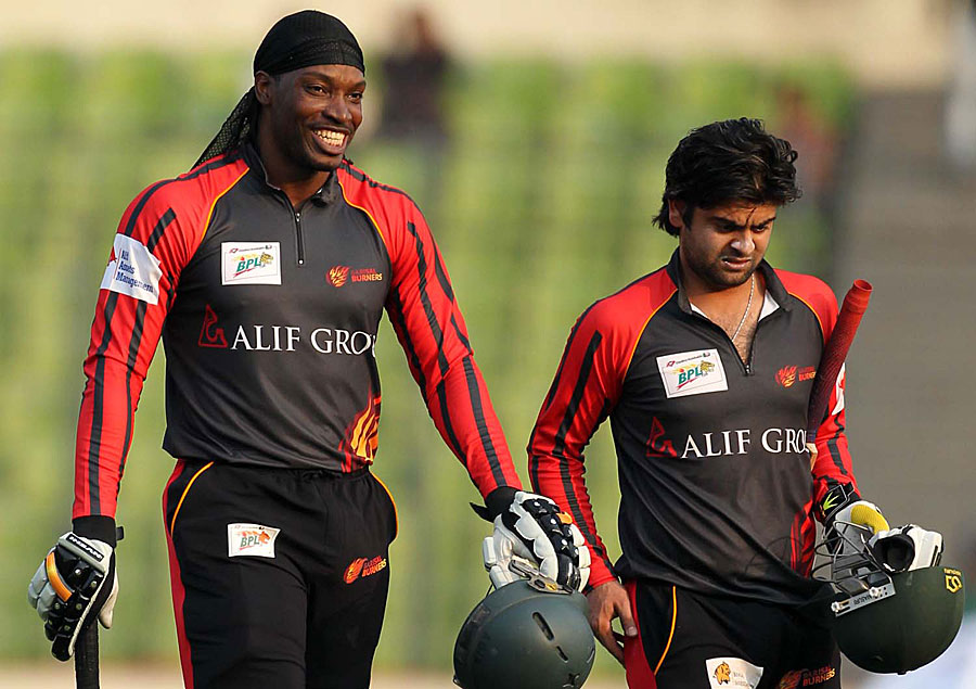 Chris Gayle Posts Cheeky Message For Birthday Boy Ahmed Shehzad 1