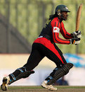 Chris Gayle smashed a 44-ball 101 for Barisal Burners, Barisal Burners v Sylhet Royals, Bangladesh Premier League, Mirpur, February 10, 2012