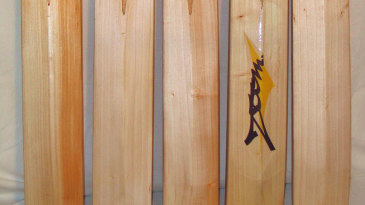 Handmade bats made by Mark Warburton in Ontario