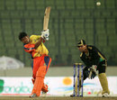 Anamul Haque smashes one to the leg side