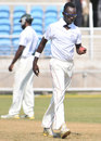 Nikita Miller claimed a ten-wicket match haul, Jamaica v Barbados, Regional Four Day Competition, Sabina Park, Kingston, Jamaica, February 11, 2012