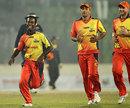 Elias Sunny claimed 3 for 17, Chittagong Kings v Dhaka Gladiators, Bangladesh Premier League, Mirpur, February 13, 2012