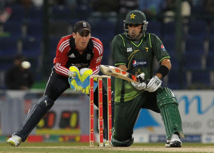 Misbah-ul-Haq was not able to replicate his success in the Tests in the UAE in the limited-overs games