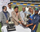 East Zone captain Natraj Behera with the Duleep Trophy