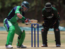 John Mooney prepares to cut, Kenya v Ireland, WCL Championship, Mombasa, February 18, 2012