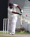 Arshad Ali made a patient 71 for UAE, UAE v Scotland, Intercontinental Cup, 3rd day, Sharjah, February 18, 2012