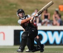 Suzie Bates top scored for New Zealand with 37, New Zealand Women v England Women, 2nd T20, Hamilton, February 19, 2012