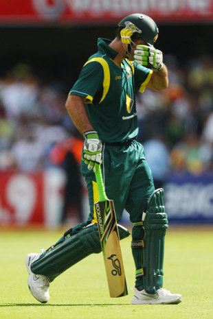 Ricky Ponting has been dropped from Australia's ODI squad