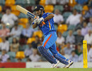 MS Dhoni resisted with a half-century