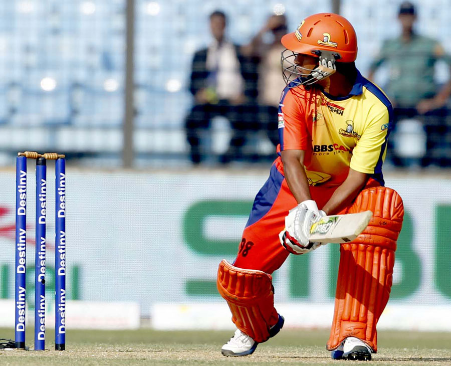 Mohammad Ashraful made 53 for the Dhaka Gladiators