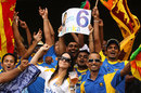 Sri Lanka had plenty of support at the Gabba, India v Sri Lanka, CB Series, Brisbane, February 21, 2012