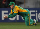 Richard Levi catches Rob Nicol, New Zealand v South Africa, 3rd Twenty20, Auckland, February 22, 2012