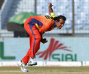 Rana Naved picked up 3 for 18 in three overs, Dhaka Gladiators v Sylhet Royals, BPL, Chittagong, February 22, 2012