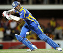 Lahiru Thirimanne chipped in with a 24, Australia v Sri Lanka, CB Series, Hobart, February 24, 2012