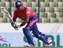 Dwayne Bravo remained unbeaten on 48, Chittagong Kings v Dhaka Gladiators, BPL, Mirpur, February 24, 2012
