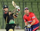 Peter Trego scored an unbeaten 68 for Sylhet Royals, Chittagong Kings v Sylhet Royals, BPL, Mirpur, February 25, 2012