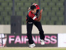 Yasir Arafat took three wickets in Barisal's win, Chittagong Kings v Barisal Burners, Bangladesh Premier League 2012, Mirpur, February 26, 2012
