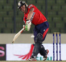 Jason Roy hits to the leg side during his 42, Chittagong Kings v Barisal Burners, Bangladesh Premier League 2012, Mirpur, February 26, 2012
