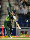 Awais Zia played a more controlled innings, Pakistan v England, 3rd Twenty20, Abu Dhabi, February 27, 2012