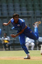 Rush Kalaria claimed 4 for 21 in nine overs, Gujarat v Saurashtra, Vijay Hazare Trophy 2011-12, Mumbai, February 28, 2012