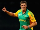 Marchant de Lange took 4 for 46 on one-day debut, New Zealand v South Africa, 3rd ODI, Auckland, March 3, 2012