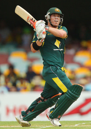David Warner made 163 from 157 balls