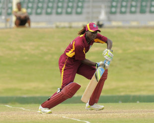Stafanie Taylor top scored with 75, West Indies Women v India Women, 2nd ODI, Basseterre, St Kitts, March 2, 2012