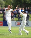 Chris Martin celebrates dismissing Jacques Kallis